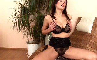 brunette hair girl anita solo - czechsuperstars