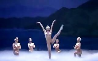 stripped oriental ballet