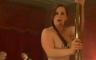 hot nice-looking girl cums and cries in threesome