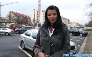 publicagent hot dark brown d like to fuck with