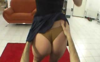 natural czech babe does outstanding lapdance