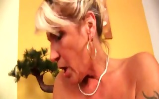 youporn - granny receives a unbending stick