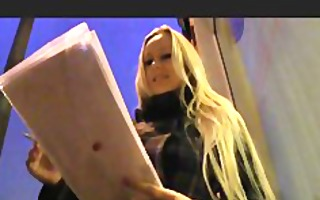 publicagent blond with biggest melons win ipad