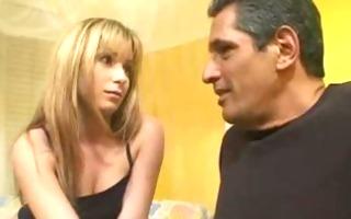 stepdaughter seduces excited stepdad