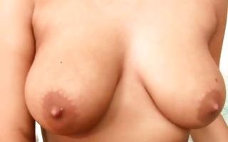 tanned playgirl vanity voyager masturbates