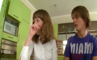 teenagers fucking on the kitchen table