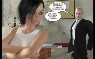 3d comic: freehope 1. french version