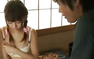 japanese av model receives fingered