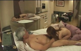 hiddencam - old japanese guy fuck call beauty