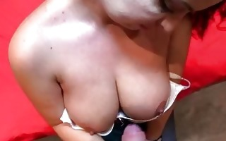 dilettante playgirl with biggest mangos pounded