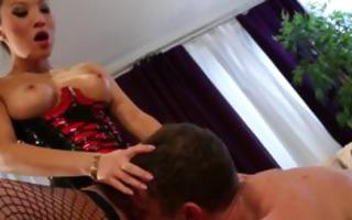asa akira dominates her guy
