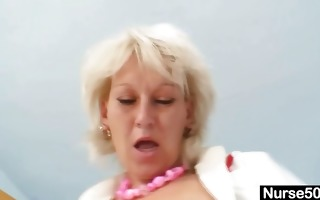 blonde d like to fuck in latex uniform extreme