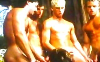 vintage group sex on farm