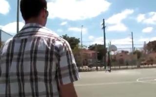 thug riding white knob like a pro part5