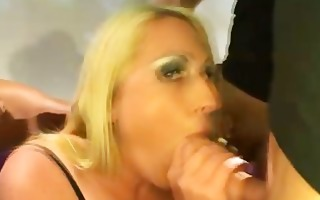 blonde bbw carisma pleased our big rods
