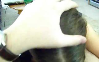 cute dark brown deepthroat