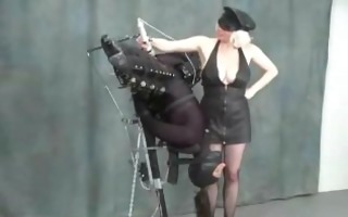 woman in latex fetish brutal humiliation