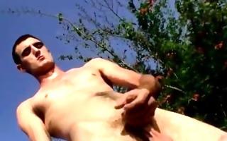 nude lads duke enjoys it, beginning off dressed
