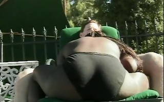 sexy black honey sucking a biggest hard white wang