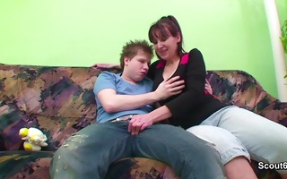 german mommy caught and fuck hardcore with