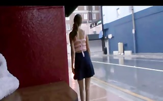 voyeur episode of a lady in pantyhose