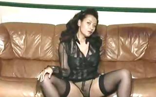 vintage mature large tit striptease