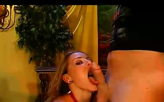 golden-haired angel goes naughty on my jock