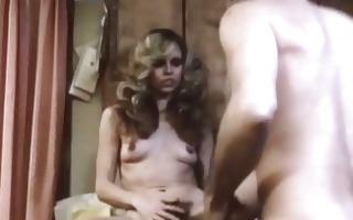guy licking a hairy vagina in retro movie