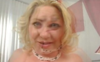 blond milf tit-fucked