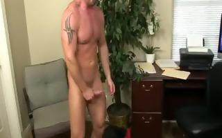 my horrible homosexual boss, scene