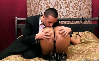 dinner and a double penetration