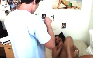 lascivious college teenager large boobs fucking