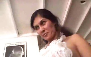 hammering hairy mother i cum-hole of french maid