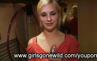 gals gone wild: hawt blonde with toy