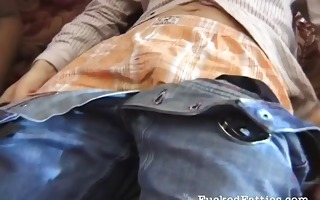 horny bulky swarthy loves fucking a white chap