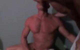 gay sex fuckfest in public washroom part1