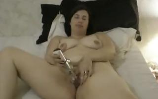 neighbor mommy with a dildo