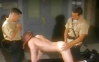 two sexually excited military men wish to rape