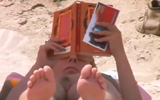 compilation s garb woman on beach voyeur