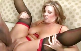 non-professional in hot underware having sex
