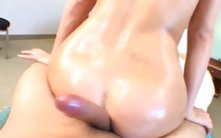 miley ann - bubble butt tryouts