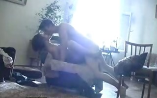 excited young russian chap screwed friends mom at