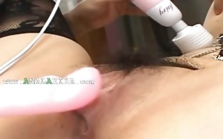 hawt oriental anal fucking with nylons