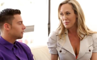 mommys educate sex - mom licks spunk from