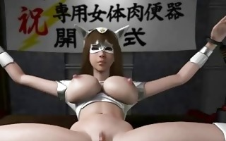 pregnant 3d anime receives a bigcock drilled