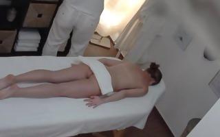 st hidden web camera in real massage salon