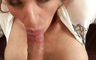 anna loves to engulf cock
