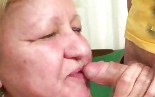 wife busts her man fucking biggest granny