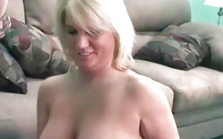 golden-haired alexis swallows a fortunate geeks