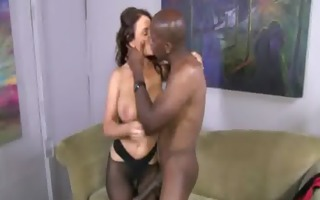 darksome monster dong fuck a golden-haired tight